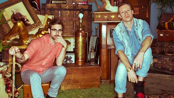 Macklemore & Ryan Lewis en concert à Paris