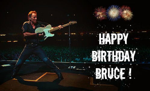 Happy Birthday Bruce Springsteen