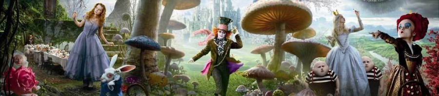Alice in Wonderland by Tim Burton