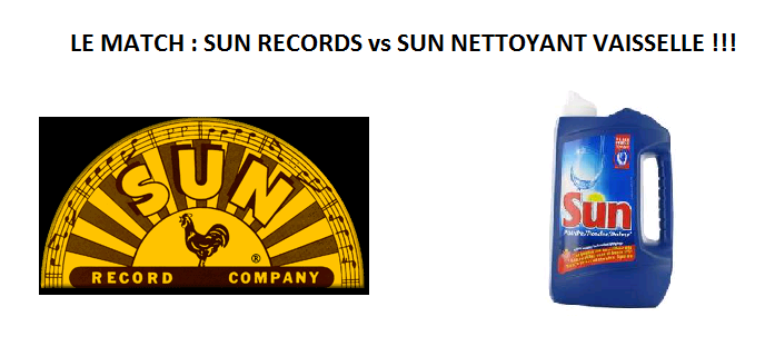 Le Match : Sun Records vs Sun Nettoyant Lave-Vaisselle !