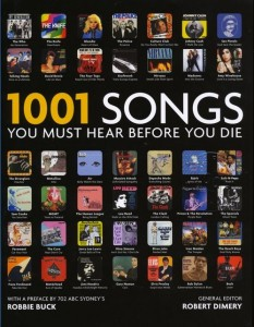 Livre - 1001 songs you must hear before you die