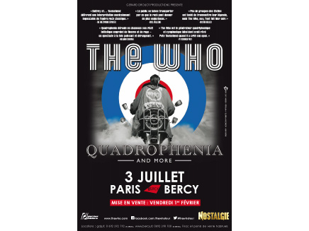 The Who - 3 juillet à Bercy