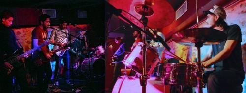 The Flakers en concert